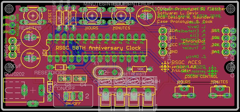 TEI3M Major Project: The Clock